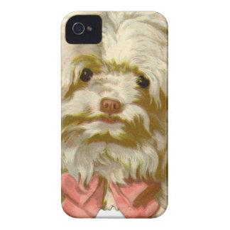 Vintage Old English Sheepdog pet puppy cute iPhone 4 Case-Mate Case