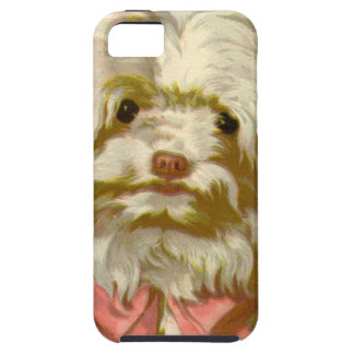 Vintage Old English Sheepdog pet puppy cute iPhone 5 Cover