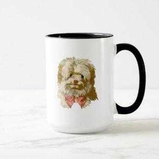 Vintage Old English Sheepdog pet puppy cute Mug