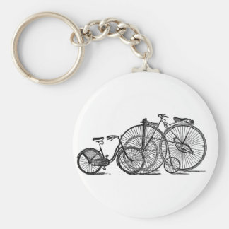 Vintage Old Fashion Bicycle Keychains