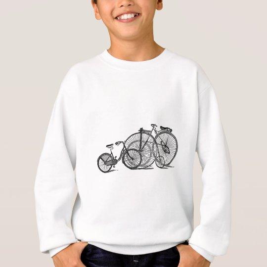 Vintage Old Fashion Bicycle Sweatshirt