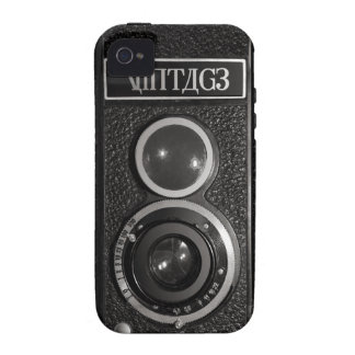 Vintage Old Film Camera iPhone 4 CaseMate Tough Case-Mate iPhone 4 Covers