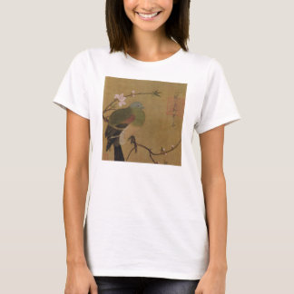 Vintage Old Japanese Painting of A Wild Bird T-Shirt