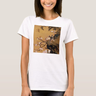 Vintage Old Japanese Painting of Two Birds T-Shirt
