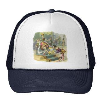 Vintage Old King Cole Nursery Rhyme Poem Song Trucker Hat