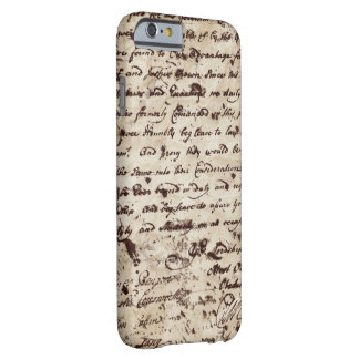 Vintage Old letter iPhone 6/6s Barely There iPhone 6 Case