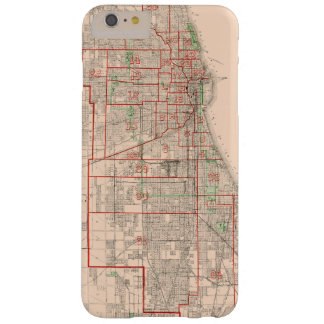 Vintage Old Map of Chicago - 1893 Barely There iPhone 6 Plus Case