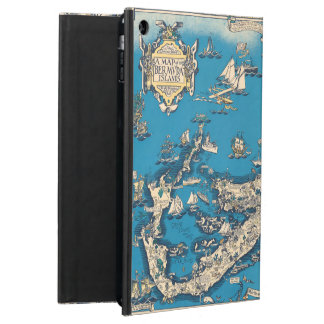 Vintage Old Map of the Bermuda Islands iPad Air Cases
