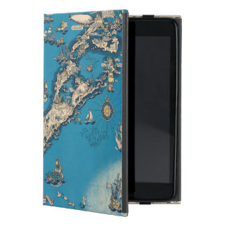 Vintage Old Map of the Bermuda Islands iPad Mini Case