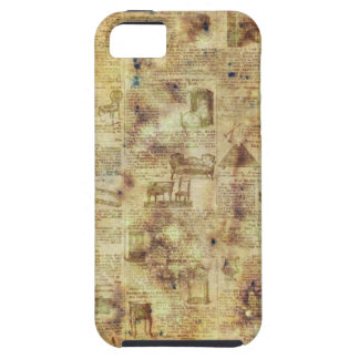 Vintage Old Newspaper iPhone 5 case cover