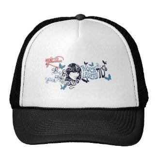 vintage old oldies rock stars Glamour Girl Hats