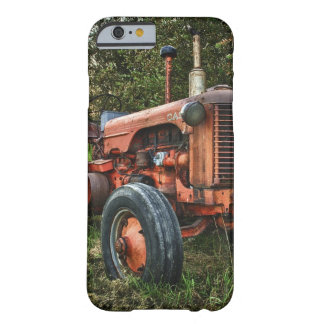 Vintage old red tractor barely there iPhone 6 case
