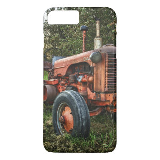 Vintage old red tractor iPhone 7 plus case
