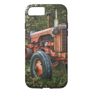 Vintage old red tractor iPhone 8/7 case
