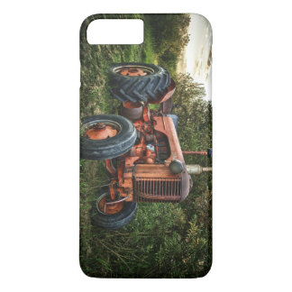 Vintage old red tractor iPhone 8 plus/7 plus case