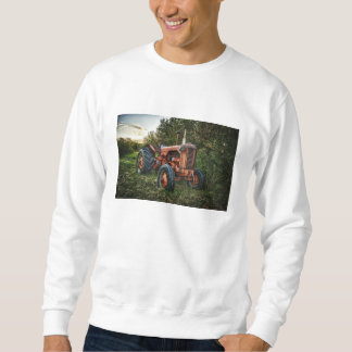 Vintage old red tractor sweatshirt