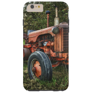 Vintage old red tractor tough iPhone 6 plus case