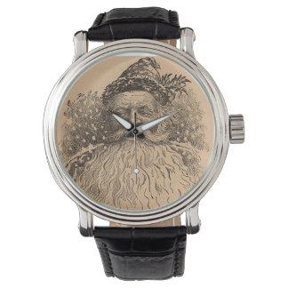 Vintage Old Saint Nick Wrist Watch