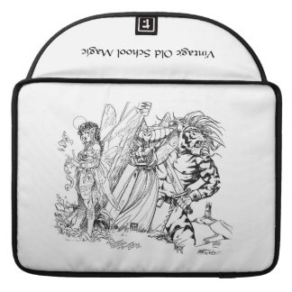 Vintage Old School Magic Mischief in the Mountains MacBook Pro Sleeve