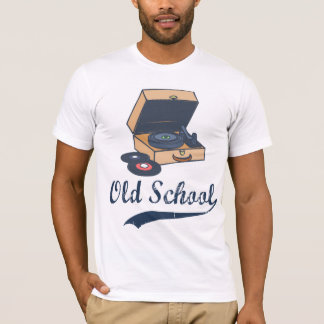 Vintage Old School Record Player T-Shirt