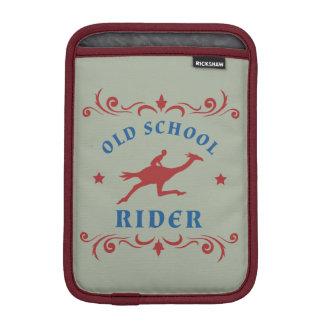 Vintage Old School Rider Sleeve For iPad Mini