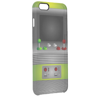 Vintage Old School Video Game Console Clear iPhone 6 Plus Case