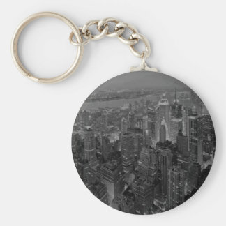 Vintage Old Style New York City Script Keychain