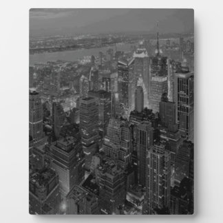 Vintage Old Style New York City Script Plaque