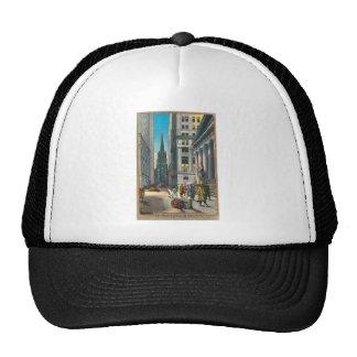 Vintage Old Trininty & Wall Street Mesh Hats