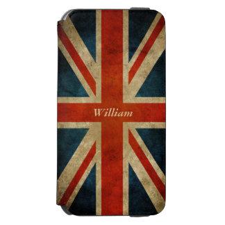 Vintage Old UK Flag - Great Britain Union Jack Incipio Watson™ iPhone 6 Wallet Case
