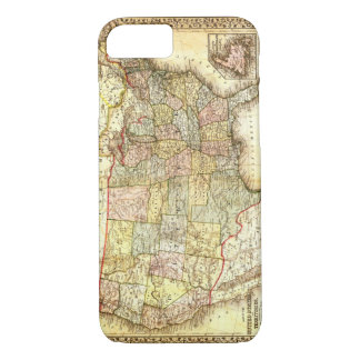 Vintage Old United States USA General Map iPhone 7 Case