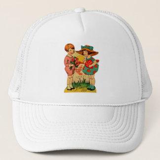 Vintage Old Valentine A Token of Love Trucker Hat