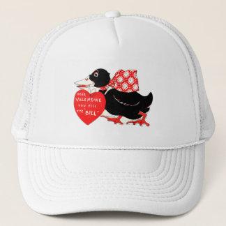 Vintage Old Valentine Duck Trucker Hat
