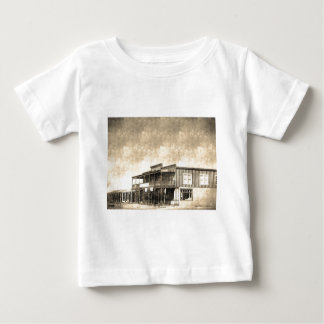 Vintage Old West Building Baby T-Shirt