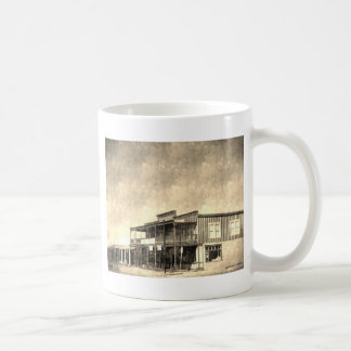 Vintage Old West Building Mug