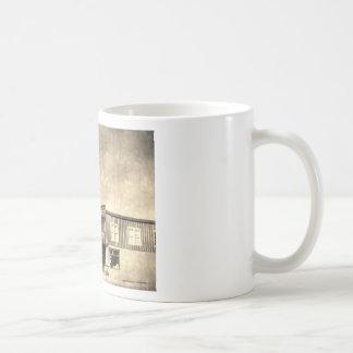 Vintage Old West Building Coffee Mugs