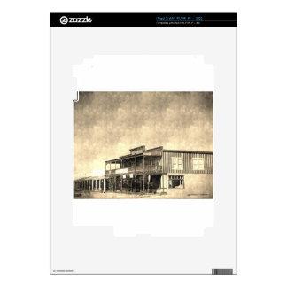Vintage Old West Building iPad 2 Skins