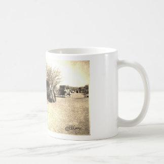 Vintage Old West Cabin Coffee Mug