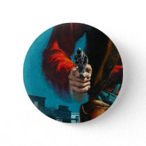 Vintage Old West Gunslinger Cowboy Button