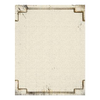 Vintage Old West Linen Stationery Letterhead