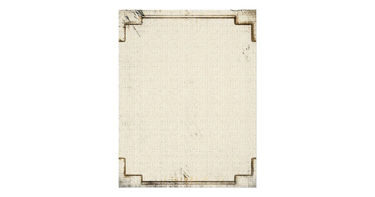Linen stationary