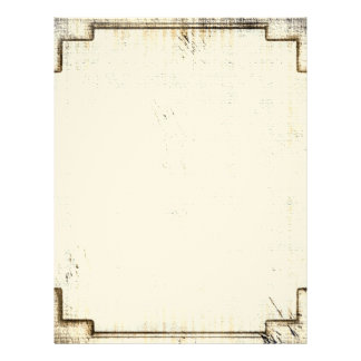 Vintage Old West Paper Stationery Letterhead Template