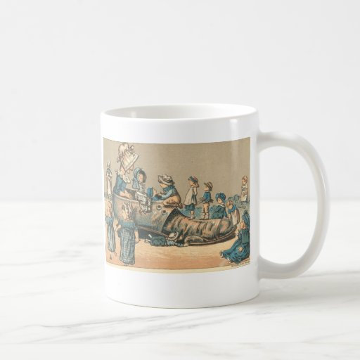 """Vintage """"Old Woman who lived in a Shoe"""" Mug"""