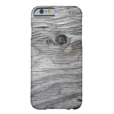 ECLECT Vintage Old Wood Texture Barely There iPhone 6 Case