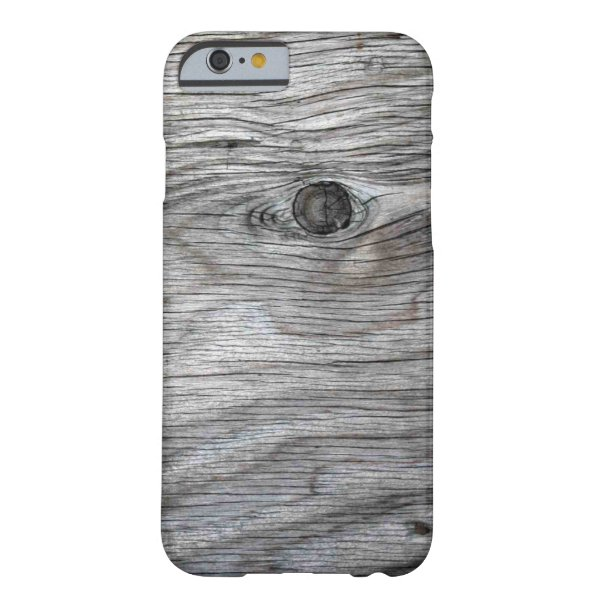 Vintage Old Wood Texture Barely There iPhone 6 Case