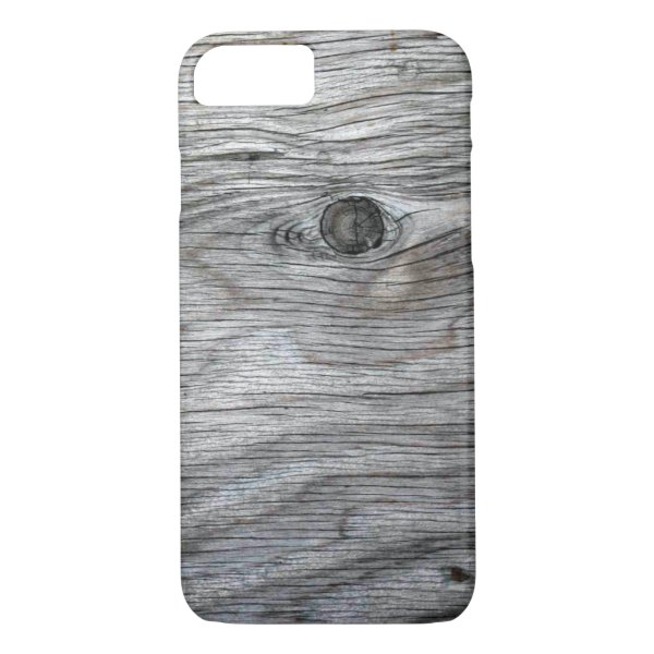 Vintage Old Wood Texture iPhone 7 Case