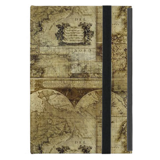 Vintage old world and Antique Maps Cover For iPad Mini
