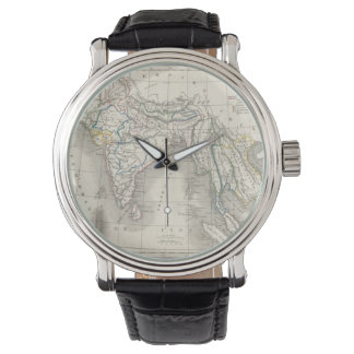 Old world map wrist watches zazzle vintage old world antique india indian map hipster wrist watch gumiabroncs Images