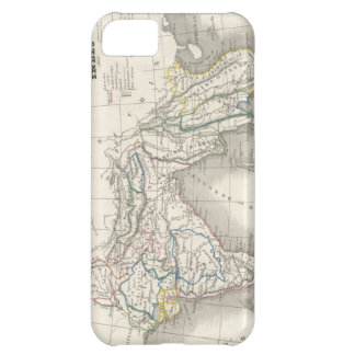 Vintage old world India Indian map print cool Case For iPhone 5C