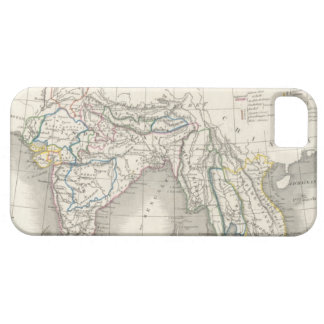 Vintage old world India Indian map print cool iPhone SE/5/5s Case